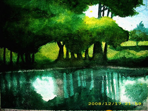 ,Reflections,ART_1357_11408,Artist : Sumod Sudhakaran,Water Colors