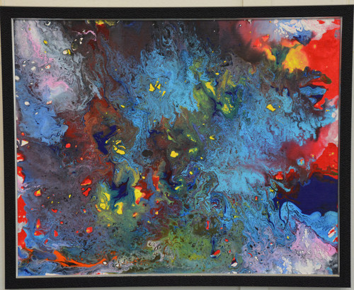 Colors Of Life,Colors of Life,ART_85_11355,Artist : Antara Telangi,Acrylic