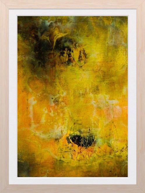 abstract paintings, multi-colors, multi-colours, multi colours, multi colors,Abstract Painting,ART_1254_11536,Artist : Rama Koneru,Mixed Media