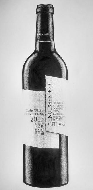 pen on paper,Cornerstone Celler Wine,ART_1392_11614,Artist : Sanchit Raj,Ink