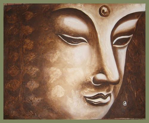 Buddha,Buddha1,ART_1385_11626,Artist : Chitra Ariram,Oil