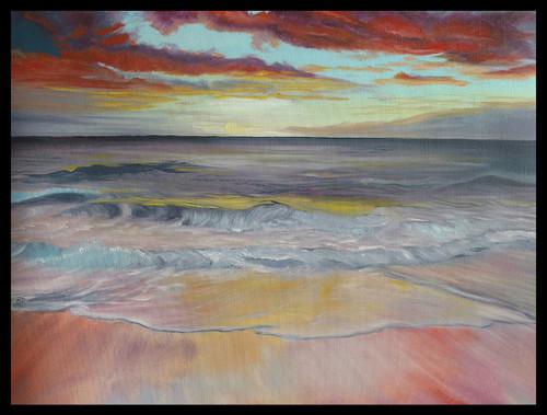 ,An Evening for you,ART_1390_11598,Artist : Priyamvada Bhardwaj,Oil