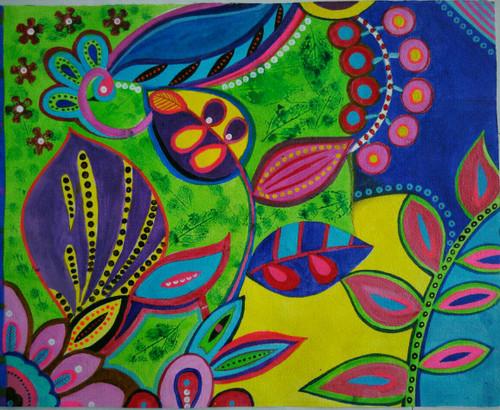 ,abstract 3,ART_1243_11746,Artist : Ujwala Chavan,Acrylic