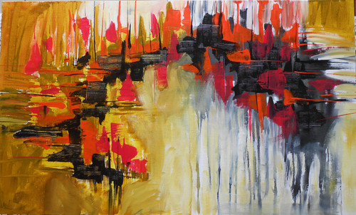 abstract,Painting 4,ART_1389_11843,Artist : Sonal  Singh,Acrylic