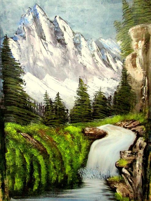 ,royal majesty forest art240716,ART_1456_12214,Artist : Harshit Garg,Acrylic