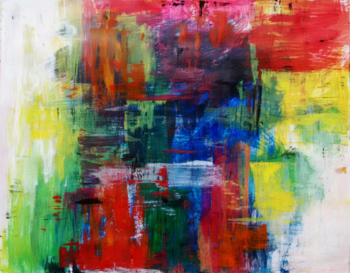 Modern art , inspirational, colourful, Bright, Vibrant , about life ,The Colour Life ,ART_1499_12259,Artist : Ashna Ralh,Acrylic
