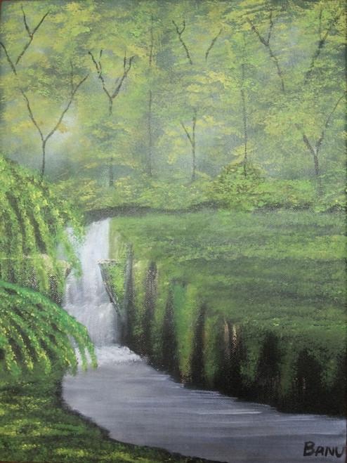 ,Enchanted Forest,ART_1517_12222,Artist : Harshita Bisht,Acrylic
