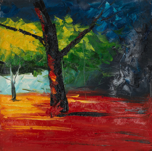 forest,The Forest,FR_1523_12410,Artist : Community Artists Group,Oil