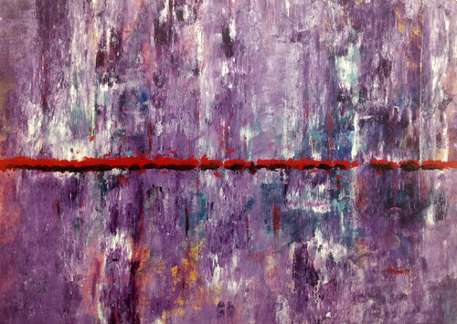 magenta,journey, abstract, textured,Journey of love,ART_1567_13296,Artist : Rupali B,Acrylic