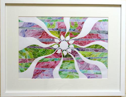 SELFNESS, SELF, NATURALITY, JIVASU, SHIPRA, FLORAL, FLOWER, FLOW,Selfness,ART_1573_13391,Artist : Shipra Gupta,Ink