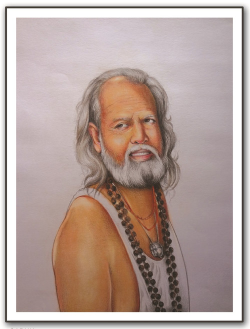 painting-pencil-paper--SADHU,SADHU,ART_1609_13575,Artist : Santosh  Dangare,Pencil