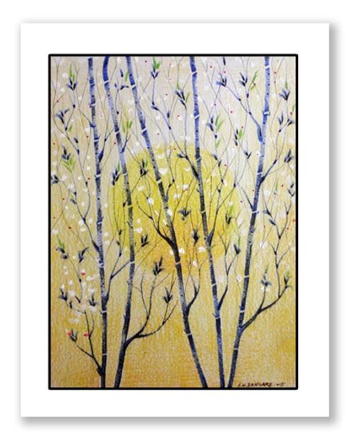 painting-pencil-paper--LAND SCAPE,NATURE LIFE,ART_1609_13593,Artist : Santosh  Dangare,Pencil