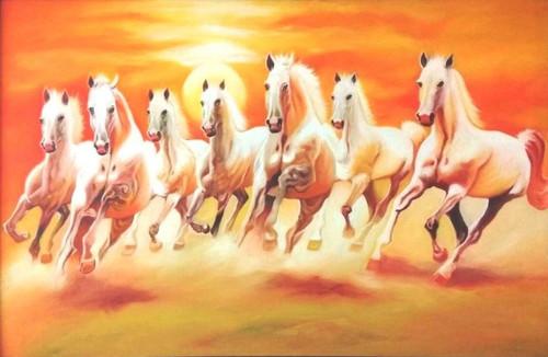 Shop 7 Running Horses Seven Horses Vastu Horse Animals Birds