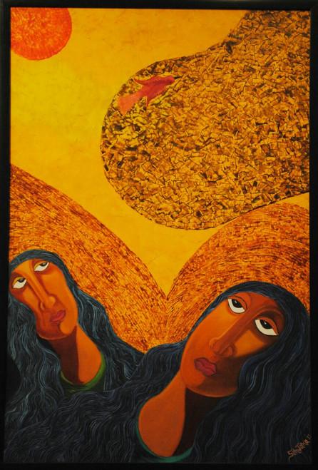,Friends,ART_1316_13702,Artist : Priyanka Dutt,Oil