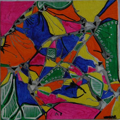 Colorful, colors, mix,Spread it,ART_1670_13813,Artist : Winnie Joshi,Acrylic
