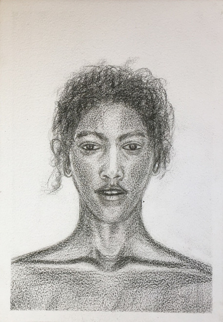 Black, Beautiful, flawless, sketch, power, Grace, Aura, Independent ,Black is Beautiful,ART_1684_13903,Artist : Sandeep Pranoy,Pencil