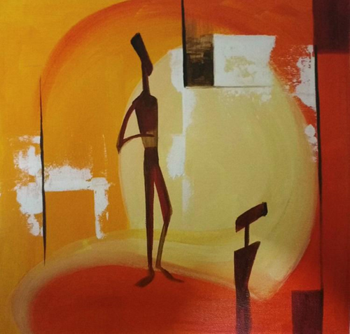 ,Humanity,ART_1700_14100,Artist : Kraftsland India Corp,Acrylic