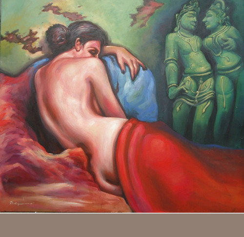 ,Untitled,ART_836_5419,Artist : Debkumar Bhattacharyya (Seller),Acrylic