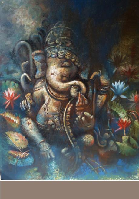 ,Ganesh 2,ART_836_5413,Artist : Debkumar Bhattacharyya (Seller),Acrylic