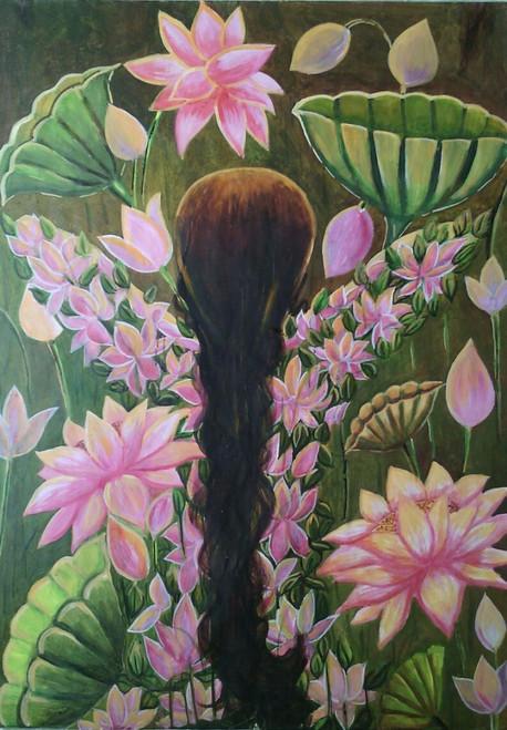 ,Rejuvenation,ART_836_4142,Artist : Debkumar Bhattacharyya (Seller),Acrylic