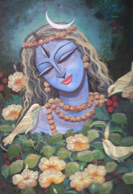 ,Devi3,ART_836_4106,Artist : Debkumar Bhattacharyya (Seller),Acrylic