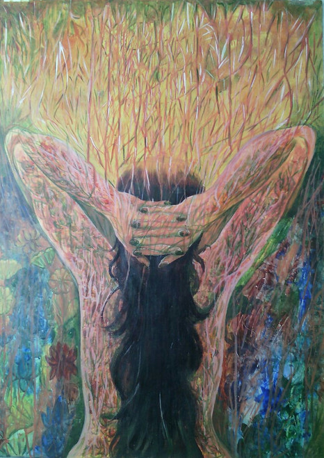 ,Barriers,ART_836_4103,Artist : Debkumar Bhattacharyya (Seller),Acrylic