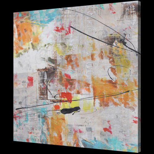 beautiful abstract paintings,56ABT51,MTO_1550_14681,Artist : Community Artists Group,Mixed Media