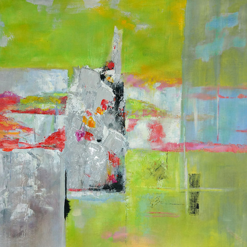 beautiful abstract paintings,56ABT25,MTO_1550_14665,Artist : Community Artists Group,Mixed Media