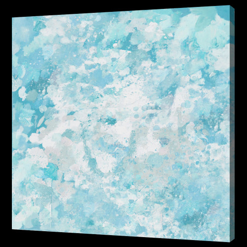Blue Color Abstarct PAintings,beautiful abstract paintings,56ABT16,MTO_1550_14659,Artist : Community Artists Group,Mixed Media
