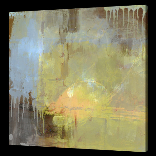 Yellow Abstract Paintings,Beautiful Abstract,,52ABT02,MTO_1550_14651,Artist : Community Artists Group,Mixed Media