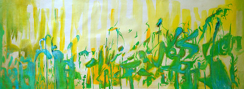 beautiful abstract paintings,56ABT85,MTO_1550_14697,Artist : Community Artists Group,Mixed Media