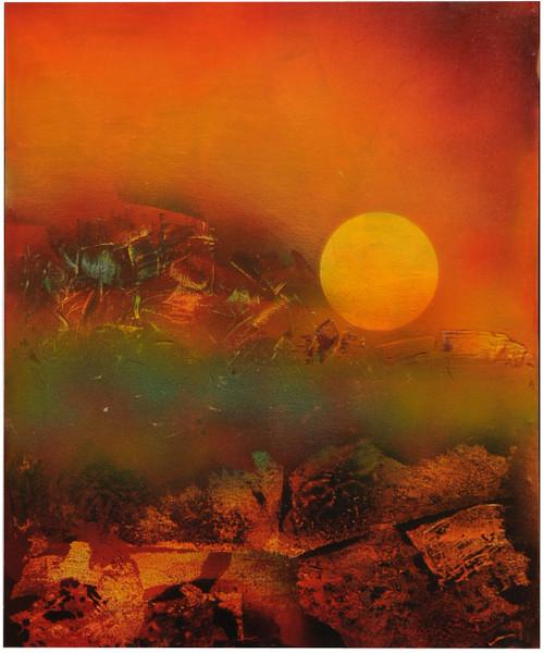 sun rock mountains,sun rock mountains,ART_1769_14723,Artist : Kusum Parmar,Acrylic