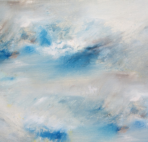 beautiful abstract paintings,abstract paintings,The Oceanic Abstract,MTO_1550_15013,Artist : Community Artists Group,Mixed Media