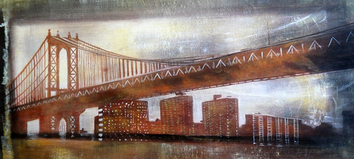 bridge paintings,56ABT211,MTO_1550_14966,Artist : Community Artists Group,Mixed Media