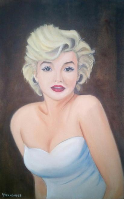 marilyn, monroe, marilyn monroe,A Revival,ART_199_7743,Artist : Yacinta Fernandes,Oil
