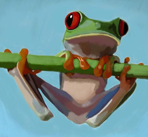 frog paintings,56Anm92,MTO_1550_15172,Artist : Community Artists Group,Mixed Media