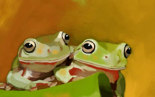 frog paintings,56Anm91,MTO_1550_15171,Artist : Community Artists Group,Mixed Media