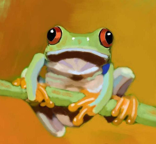 frog paintings,56Anm90,MTO_1550_15170,Artist : Community Artists Group,Mixed Media