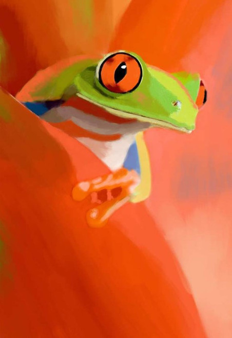 frog paintings,56Anm89,MTO_1550_15169,Artist : Community Artists Group,Mixed Media