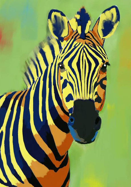 zebra paintings,56Anm81,MTO_1550_15154,Artist : Community Artists Group,Mixed Media