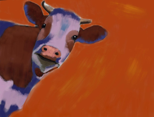 cow paintings,56Anm59,MTO_1550_15108,Artist : Community Artists Group,Mixed Media