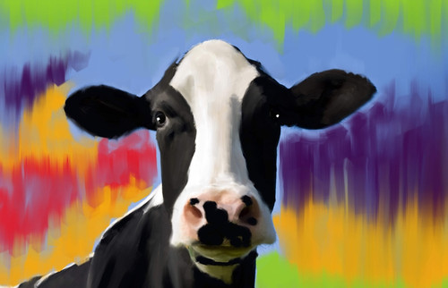 Cow Paintings,56Anm56,MTO_1550_15105,Artist : Community Artists Group,Mixed Media