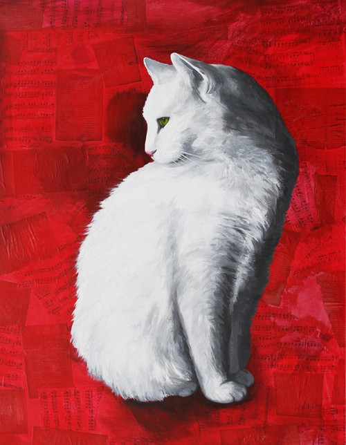 cat paintings,56Anm116,MTO_1550_15212,Artist : Community Artists Group,Mixed Media