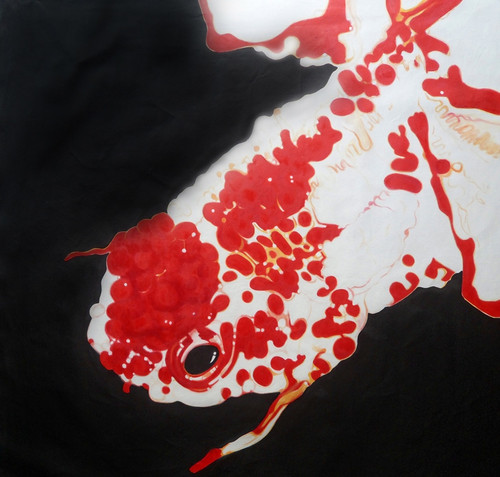 fish paintings,56Anm107,MTO_1550_15204,Artist : Community Artists Group,Mixed Media