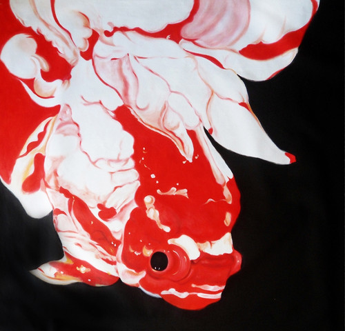 fish paintings,56Anm103,MTO_1550_15200,Artist : Community Artists Group,Mixed Media