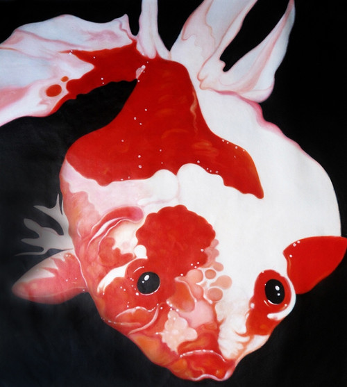 fish paintings,56Anm101,MTO_1550_15198,Artist : Community Artists Group,Mixed Media