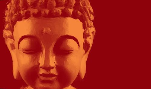 buddha paintings,56Buddha25,MTO_1550_15248,Artist : Community Artists Group,Mixed Media