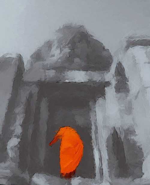 buddha paintings,56Buddha20,MTO_1550_15245,Artist : Community Artists Group,Mixed Media