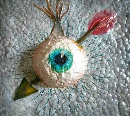 Eye painting.,Eye painting.,ART_1435_14801,Artist : Kalyani Kshatriya,Mixed Media