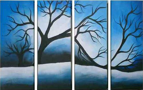 Nature Painting.,Nature Painting.,ART_1435_14802,Artist : Kalyani Kshatriya,Acrylic